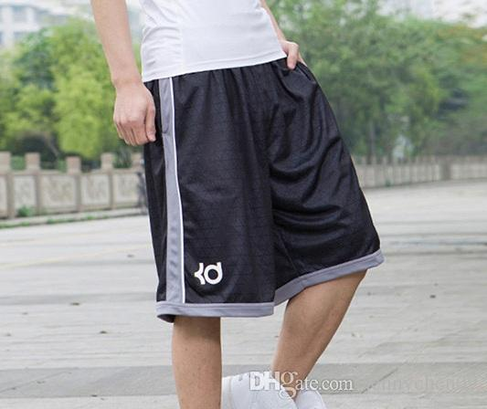 188bfecc19f86f 2019 New Designer Big And Tall Men S Basketball Shorts Knee Length Running  Sports Shorts With Zipper Pocket Loose Gym Shorts Plus Size 3XL From  Jennychen09