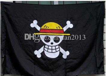 حر shiping قطعة واحدة قبعة القش هيكل عظمي الجمجمة العلم القراصنة لوفي تأثيري التبعي