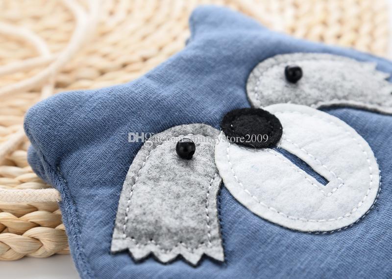 Cute Korea Style Little Owl Head Kids Bag Cotton Kids Messager Bag Cartoon Kids Messager Wallet Lovely Exchange Purse