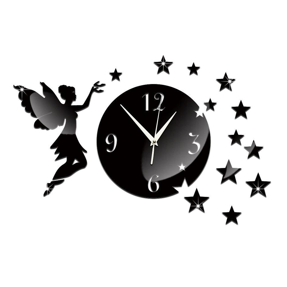 Fashion 2016 acrylic quartz wall clocks reloj de pared new novelty fashion 2016 acrylic quartz wall clocks reloj de pared new novelty big angel mirror art clock safe home decoration style free shippingty1955 home decoration amipublicfo Choice Image