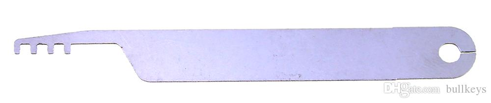 NEW Model Set Padlock Silver Color Comb Lock Pick Sets Professional Used Locksmith Tools