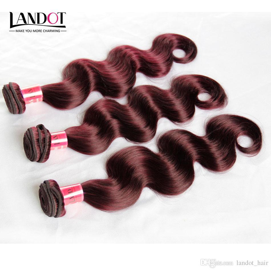 Burgundy Wine Red 99J Brazilian Peruvian Malaysian Indian Cambodian Human Hair Weaves Body Wave 3/4/5 Bundles Brazillian Hair Extensions