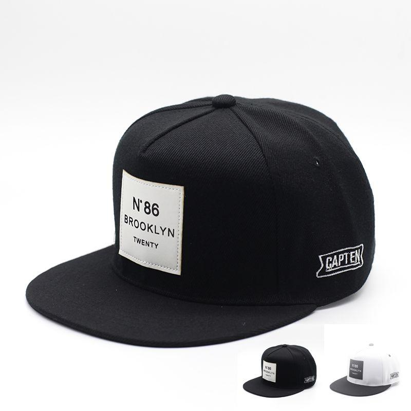 2017 Gorras Planas Hip Hop Cap Letter BROOKLYN Mens Sun Hat Baseball Caps  Brand Women Hats Black Snapbacks Caps Adjustable Hats Online Cap Online  From ... afa1f05a5e7