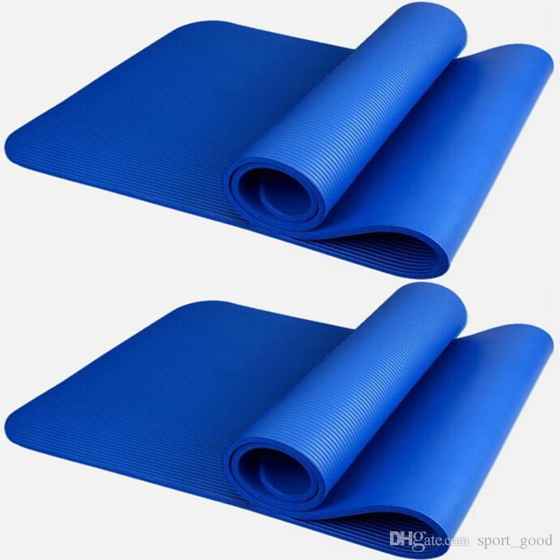 Acquista Yoga 10mm Spessore NBR Yoga Mat Principianti Fitness Usato Stuoia  Flessibile Antiscivolo Pad Esercizio Tappetino Yoga Inodore Ambientale A   32.83 ... 090e36568894