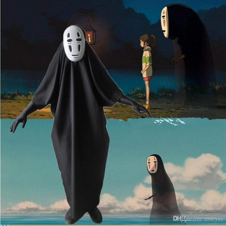 halloween costumes spirited away cosplay costume with mask gloves