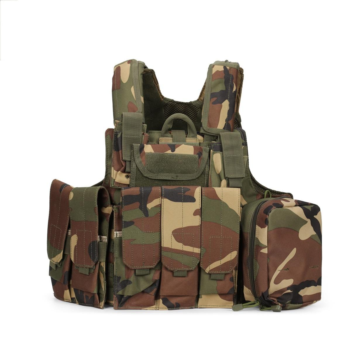 Wholesale High Quality CIRAS Airsoft Paintball Combat Tactical Vest