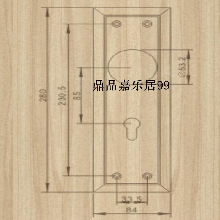Authentic Taiwan goodlink topsystem copper copper lock locks European indoor bedroom door LM718-2 ORB