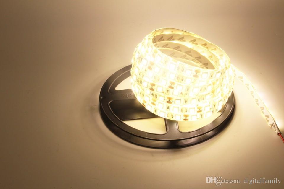SMD 5050 Waterdichte LED Strip Licht DC12V 5M 300LEDS RGB Flexibele FITA LED LICHT LIBON LAMP + 24KLEURE CONTROLER