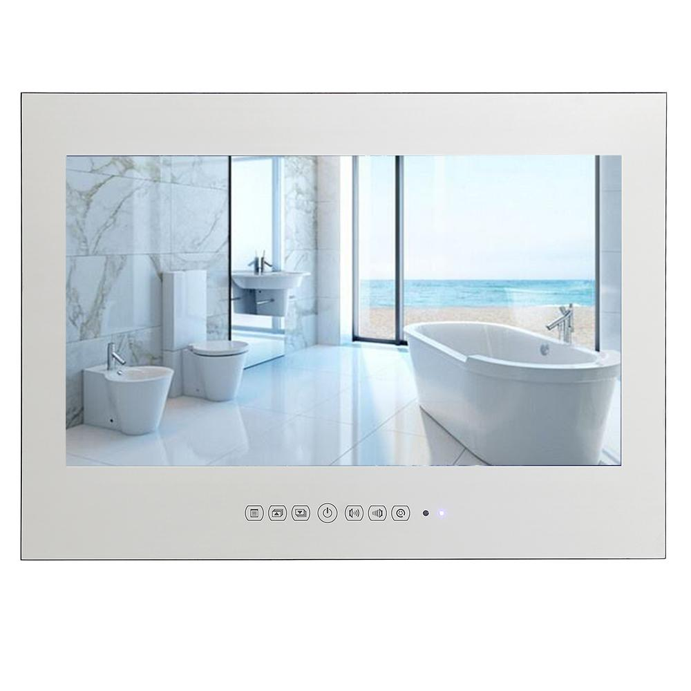 Soulaca 15.6 Inch Smart Android Shower Tv Waterproof Magic Mirror ...