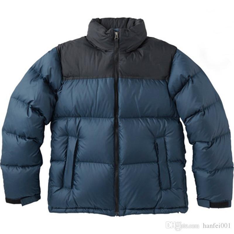 Männer Frauen Nuptse N Daunenjacke Daunen F Paar Jacke Wasserdichte 17AW Leichte Mode Oberbekleidung ymN8wvn0O
