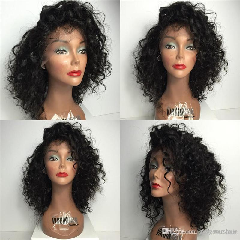 1f203bd83212 Free Parting Curly Silk Top Glueless Full Lace Wigs Peruvian Human Hair  Silk Top Lace Front Wig With Natural Hairline Buy Lace Wigs Ladies Wigs  From ...