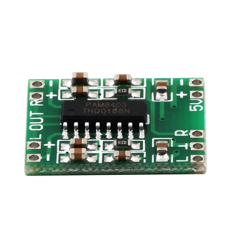 Pam8403 Ultra Miniature Digital Power Amplifier Board Class D Mini Hifi Audio 5v Stereo 2 Channel 3w 2channelsx3w Wholesale Amplifiers Bo Online With