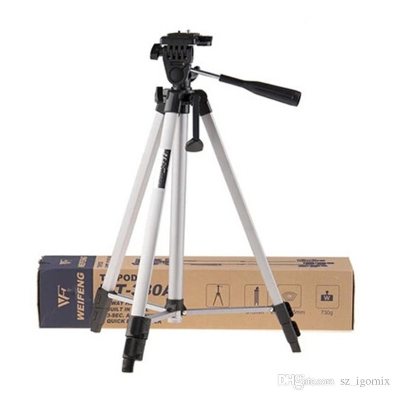 Freier Verschiffen Weifeng WT-330A professioneller Stativ-Stand-Aluminiumkamera-Stativ für Kamera-Videokamerarecorder Nikons Sony DSLR