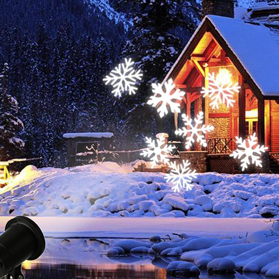 wholesale thrisdar moving snow star christmas laser projector lamp snowflake led stage light landscape garden dj disco laser light lights for disco free