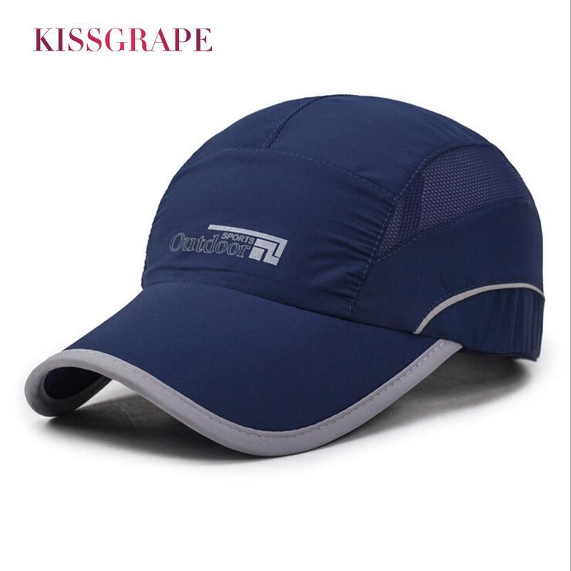 2017 Summer Men  S Baseball Caps Outdoor Sport Hats Quick Drying Fishing  Caps Men Golf Hats Bone Snapback Cap Polo Dad Hat Drake Cool Hats Lids Hats  From ... 85f289f27e6