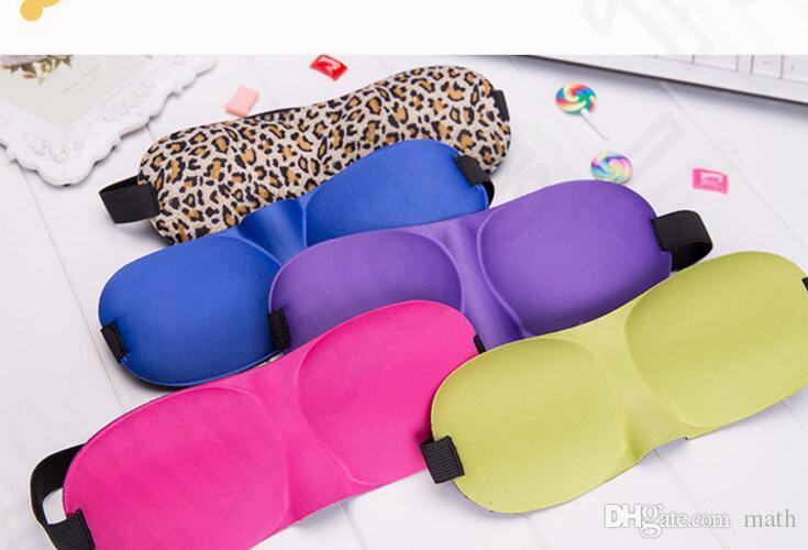 3D sleep mask Travel Sponge Eyes Shade Cover Blindfold Sleep Masks Sleep Masks to shield the light