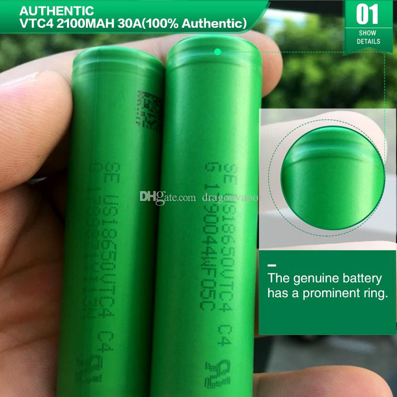 batterie 18650 ad alta