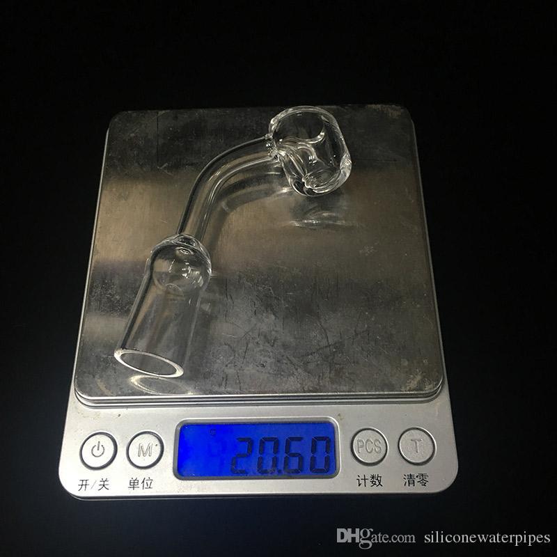 Quartz Banger Clou Femelle 14mm Joint 45 Degrés 4mm Epais XL Ongle Quartz Thermique Pour Bongs Tuyaux D'eau