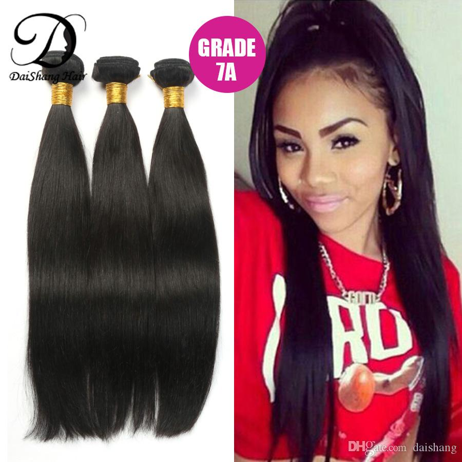 7a Mongolian Hair Bundles Real Human Hair Unprocessed Virgin