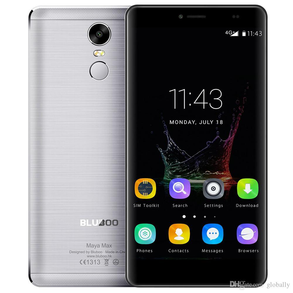 Orijinal BLUBOO Maya Max 4G Cep Telefonları Android 6.0 32 GB ROM 3 GB RAM Octa Çekirdek Smartphone 13MP Çift SIM 6.0 inç Cep Telefonu