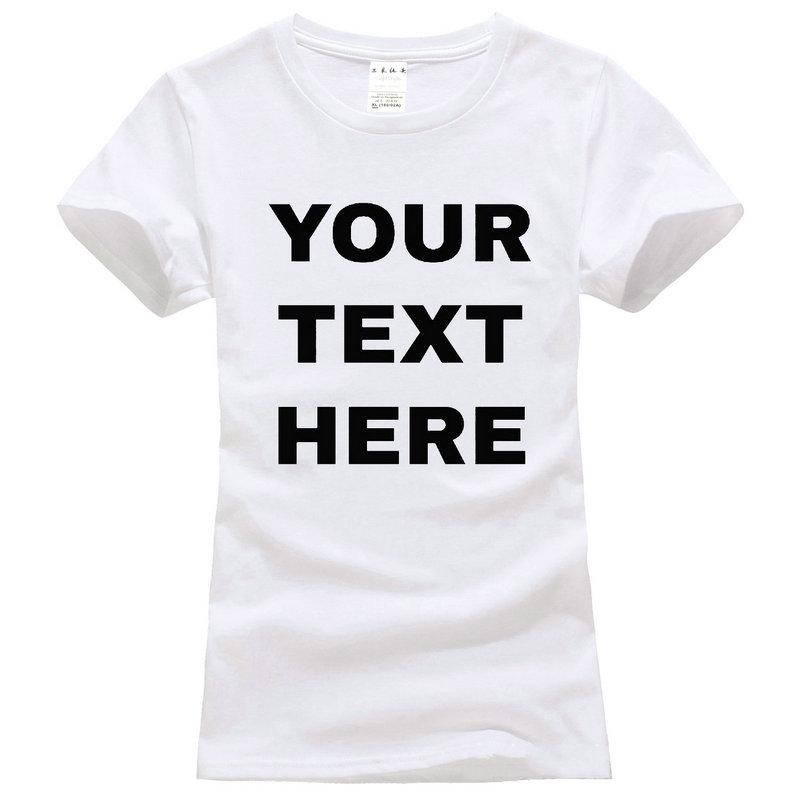 Wholesale Funny Clothing Casual T Shirts Your Text Here Custom ...
