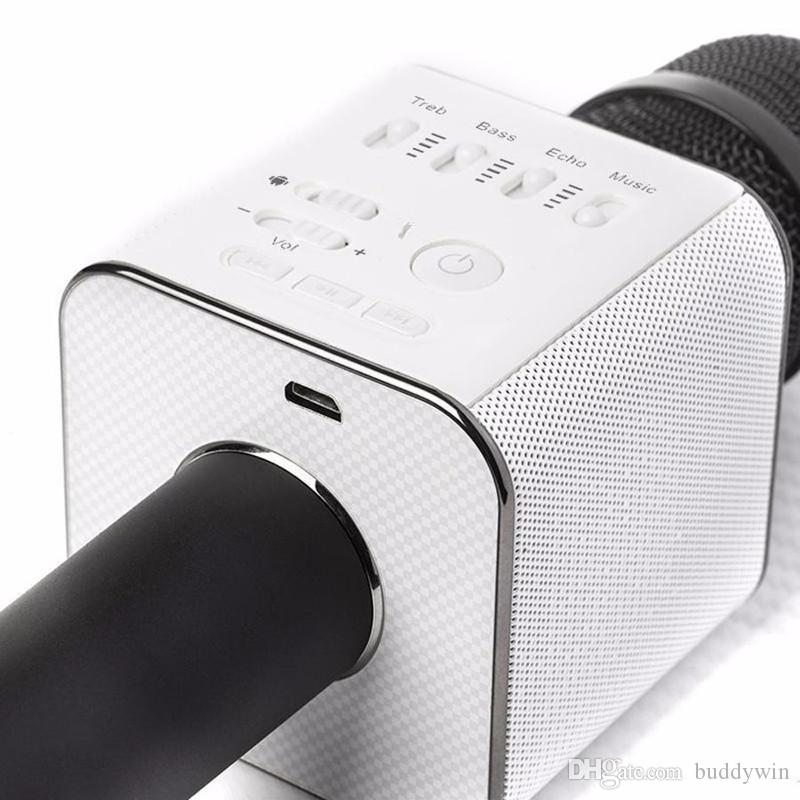 Q9 Drahtlose Mikrofone Lautsprecher Handheld Bluetooth Mikrofon KTV Portable Karaoke Mikrofon Lautsprecher für iPhone7 Android Phone