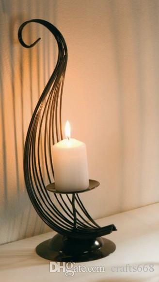 Modern Candle holder home decoration candlebrela christmas decoratiom iron metal decor