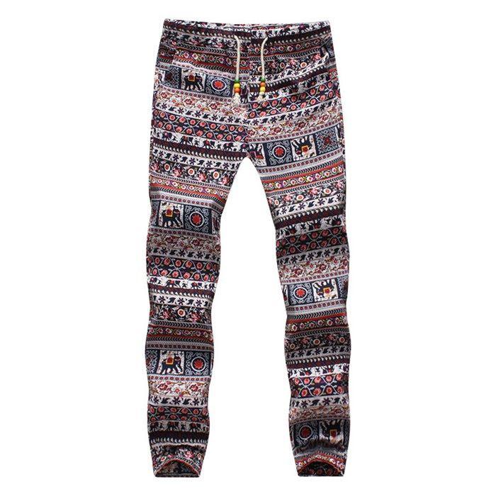 New Design Fashion sweatpants Hawaiian Comfortable Leisure Brand High Quality Men Pants Size M-5XL Casual Mens Joggers
