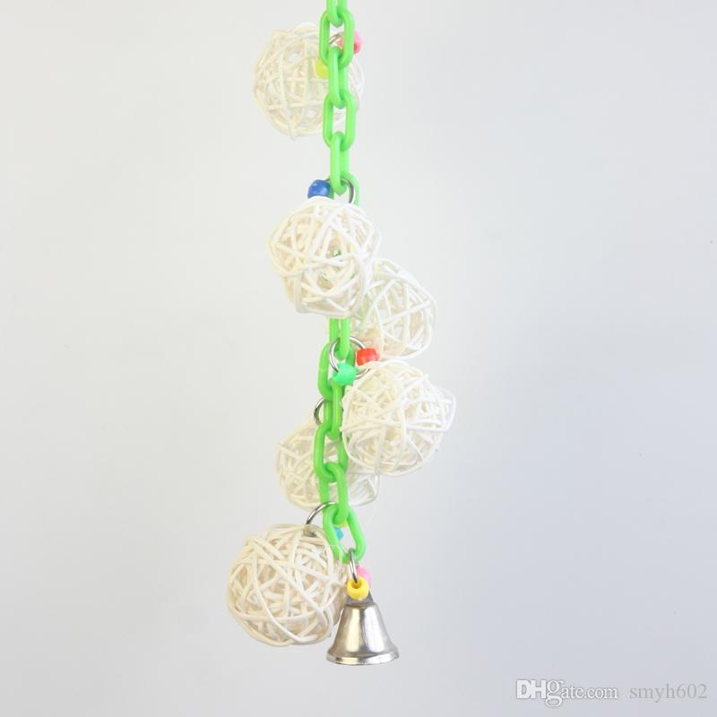 Cane Pet Toys comprend des échelles à battant d'oiseaux et autres objets d'artisanat du Nouvel An en gros ou au détail pour pet102