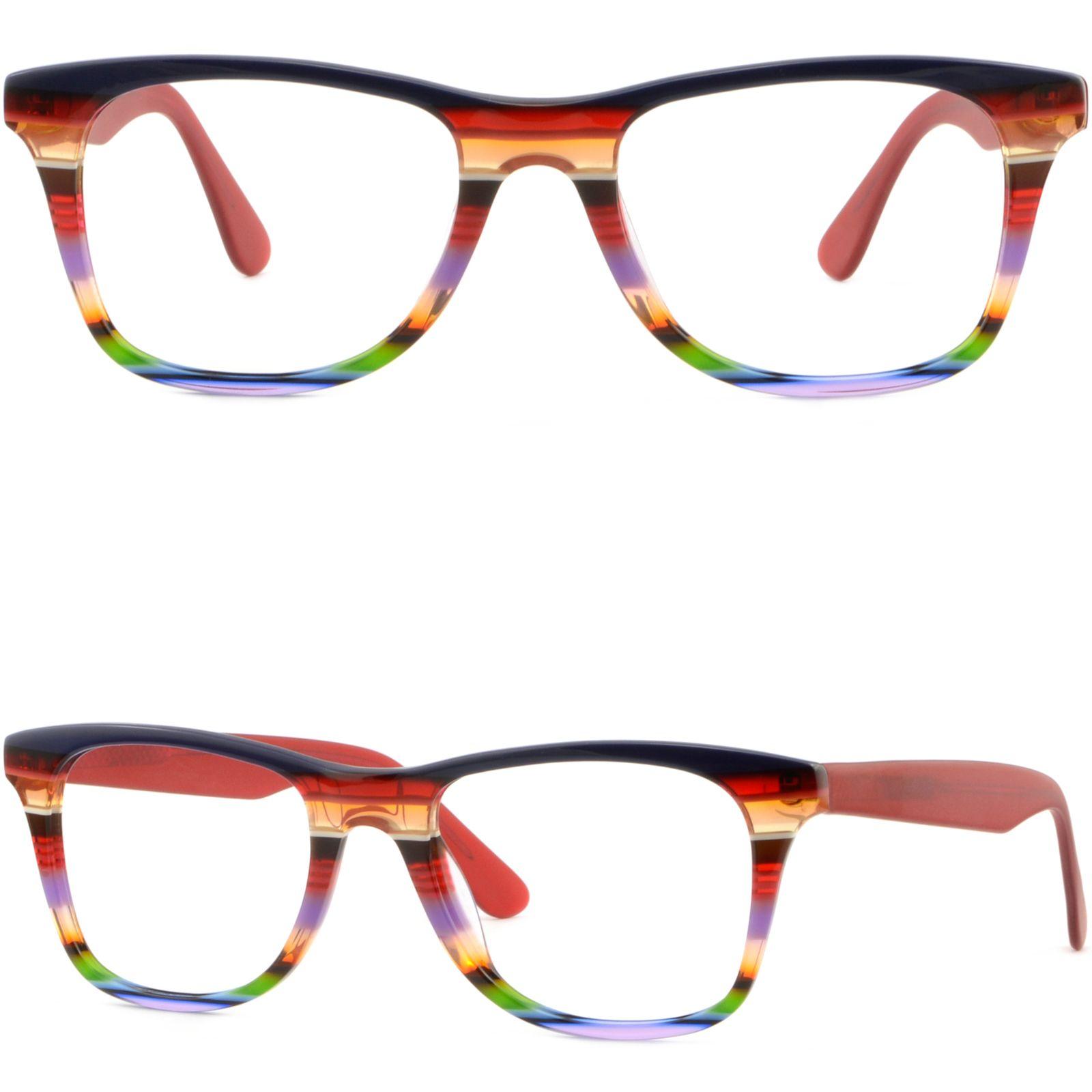 Großhandel Large Square Herren Damen Kunststoffrahmen Brillen Rx ...