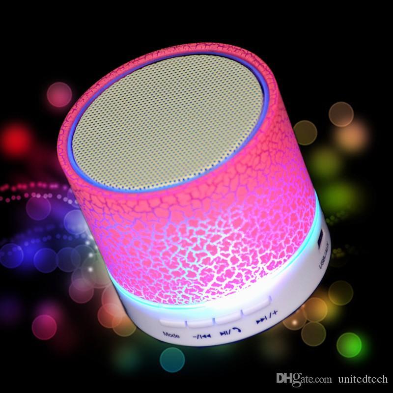 Universal HiFi wireless Bluetooth Speaker Music Sound Box Subwoofer Mini Portable LED Speaker hand free for Mobile Phone TF slot MP3 Player