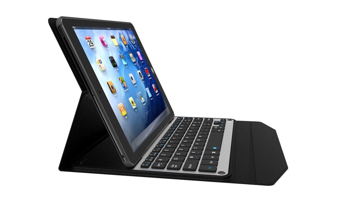 For Apple ipad pro 9.7 Metal Bluetooth Keyboard Metal Bluetooth Keyboard stand plastic cover plastic Case for ipad pro 9.7 inch