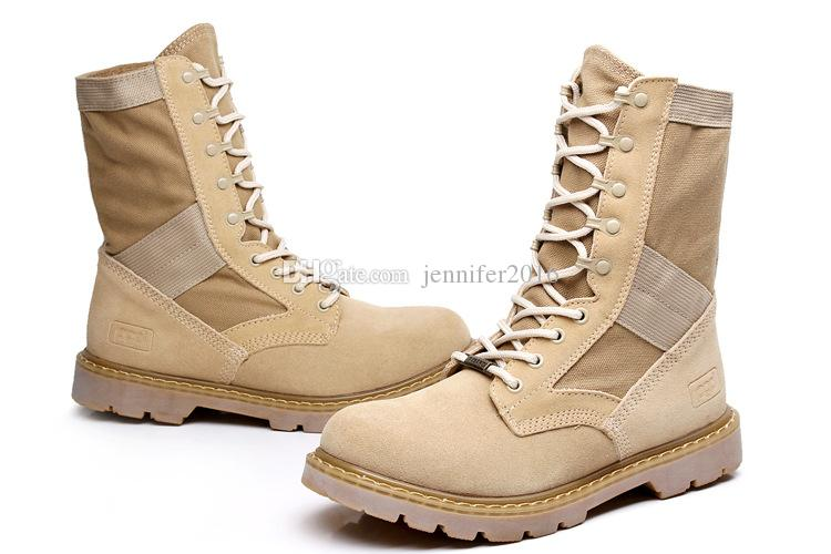 Best Quality Men Military Tactical Boots,Men's Outdoor Hunting Desert Motorcycle Army Combat Boots Shoes Autumn Suede Leather Ankle Boots