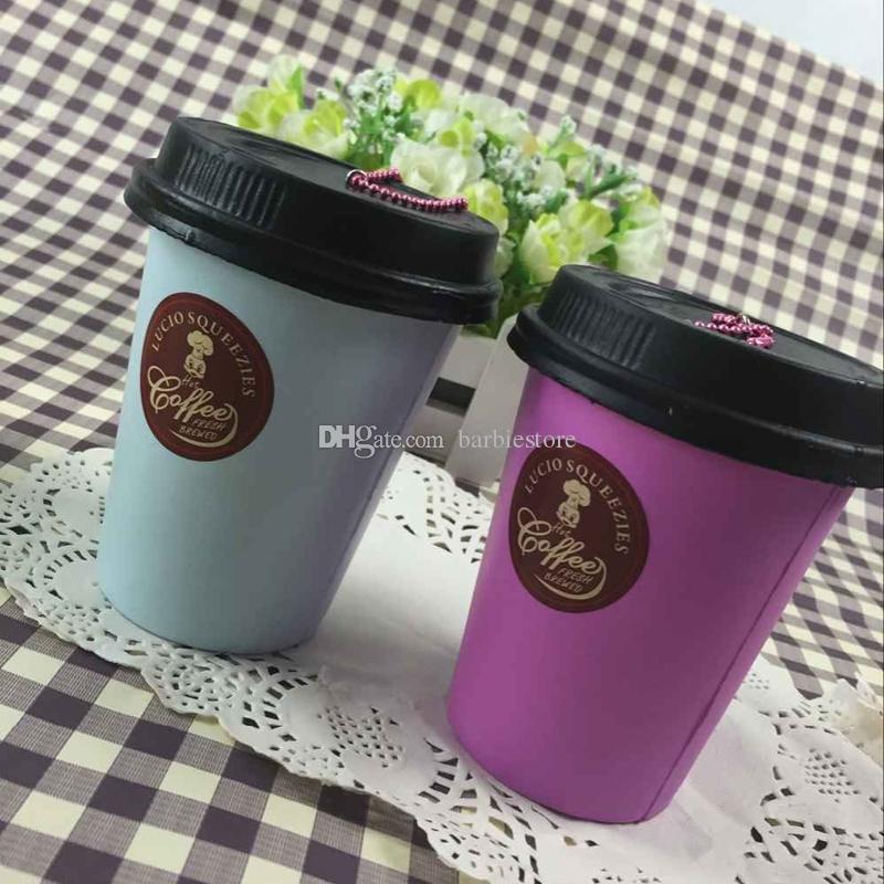 Detalles sobre 11 CM Jumbo Kawaii Coffee Cup Squishy Slow Rising Cake Perfumado Diversión Juguetes para niños Nuevo E00383