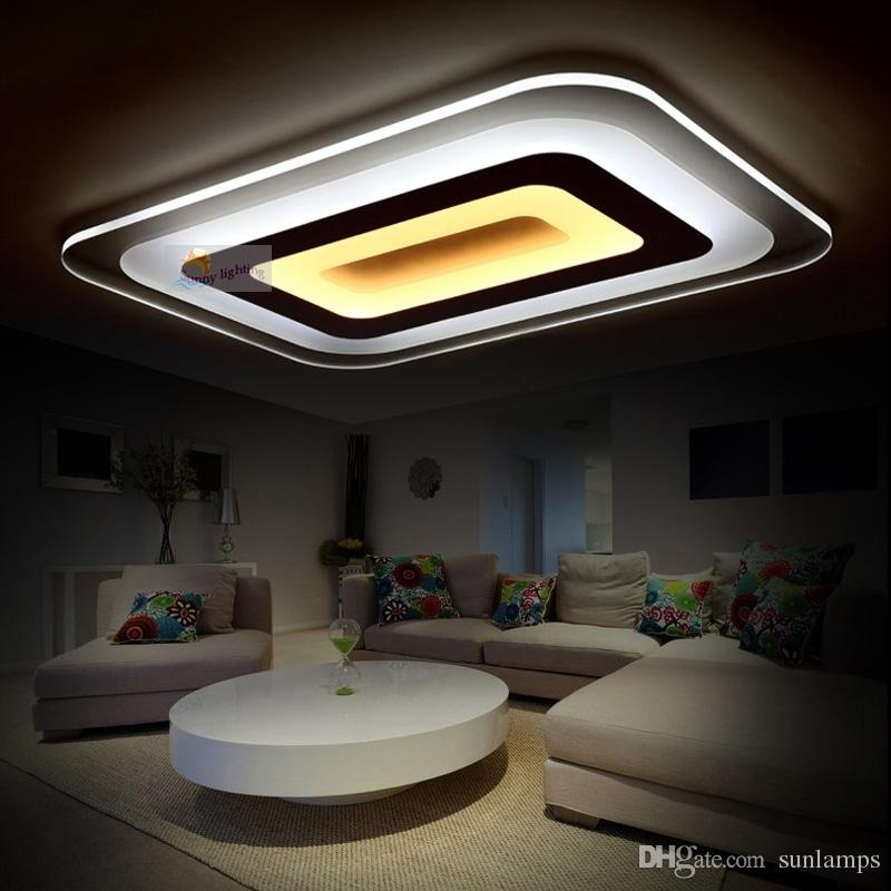Home Interior Lighting: 2019 New Home Office Led Modern Ceiling Lights Study
