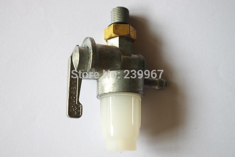 Rubinetto carburante originale / Rubinetto benzina / Valvola carburante Subaru Robin EH12 EH12-2D Motore Tamper antimanomissione