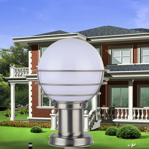 Best Led Outdoor Lighting Led Post Light Pillar Lights Street Garden  Spotlights Villar Gate Lights Garden Led Lights Warm White Color Ce Rohs  Under $92.27 ...