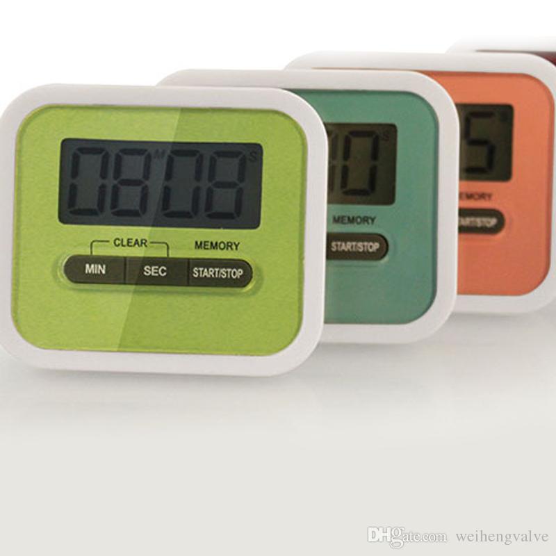 Lcd Digital Kitchen Countdown Timer Alarm Plastic Display Timer ...