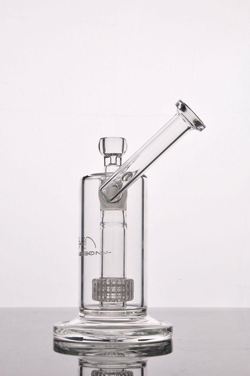 NEUE MOBIUS MATRIX SIDECAR GLAS BONG BIRMKAGE PERC GLAS BONGS Dicke Glas Wasser Raucherrohre mit 18 mm Gelenk