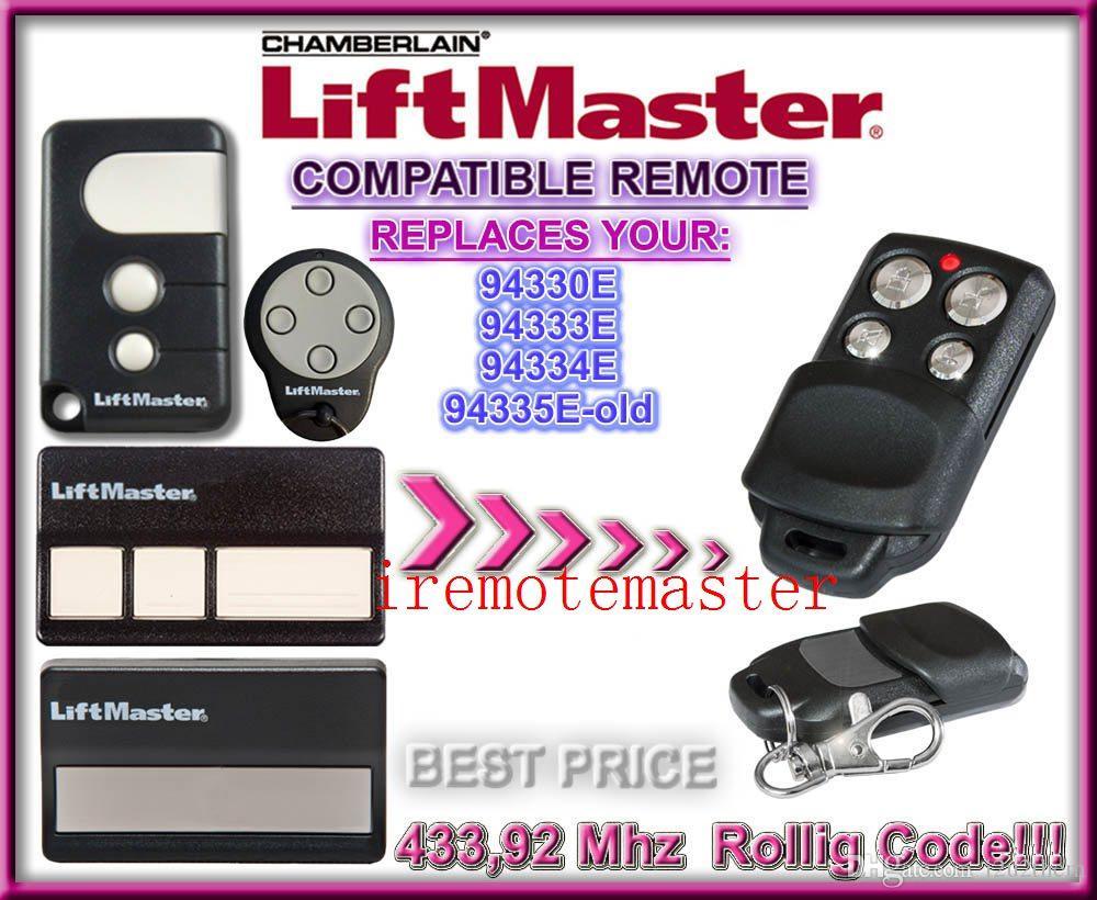 Chamberlain Liftmaster 94335e 94330e 94334e 94333e Replacement