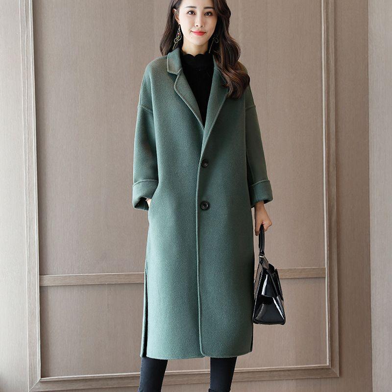 Korean Edition 2017 Autumn Winter Fashion Women New Woolen Coat Long High  Quality Beautiful Double Dusted Cashmere Woolen Coat High Quality Woolen  Coat ...