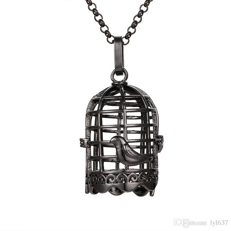 2018 geometric hollow metal birdcage pendants lockets cute 2018 geometric hollow metal birdcage pendants lockets cute aromatherapy perfume diffuser necklace pendant women 2018 fashion jewelry accessories from lyl637 mozeypictures Image collections