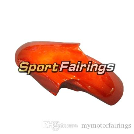 Fairings For Yamaha YZF600 R6 YZF-R6 98 - 02 1998 1999 2000 2001 2002 Injection ABS Plastic Motorcycle Fairing Kit Orange Flat Black Carene