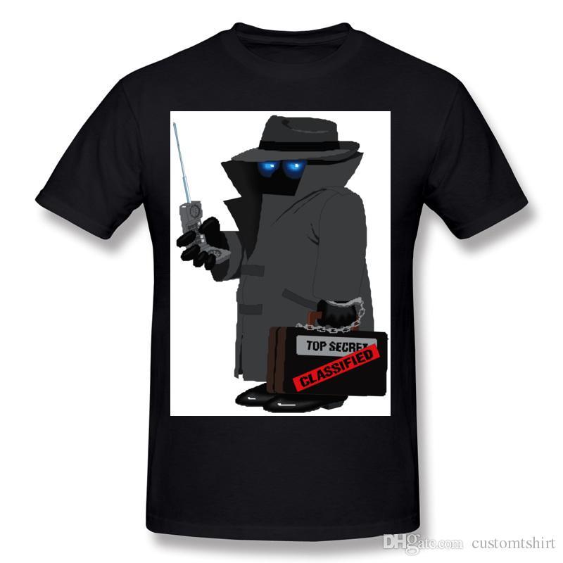 Top Secret Cassified Tee Tops Hombre Homme Online Tshirt Design ...