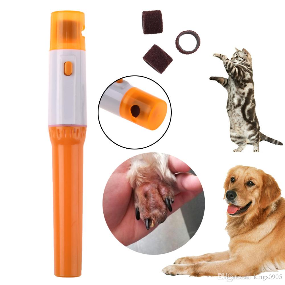 2018 Hot Pet Nail Grinder Dog Cat Clipper Electric Grooming Tool