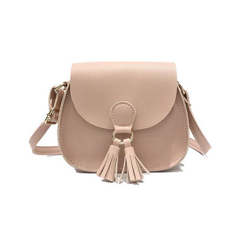 cafd420ccaea Brand Women Saddle Simple Shoulder Bag Fashion Tassel Mini Handbags Cheap  Small Crossbody Bag For Girls Lady Cute Messenger Bags Kawaii Handbags  Wholesale …