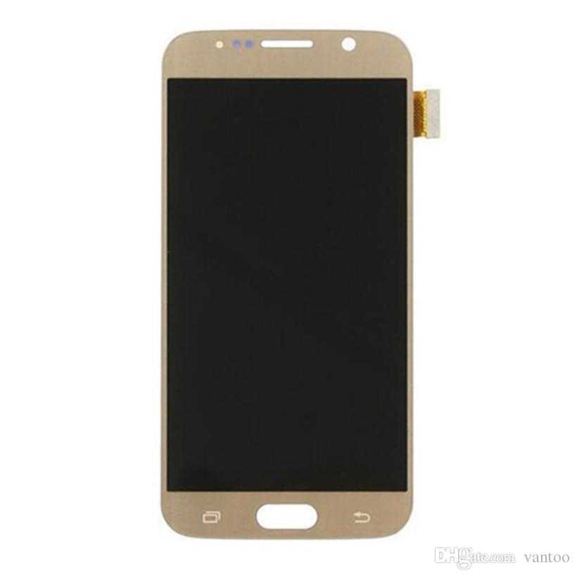 Original LCD Display Touch Screen Digitizer Replacement 5.1 Inch For Samsung Galaxy S6 G920 Super AMOLED Repair