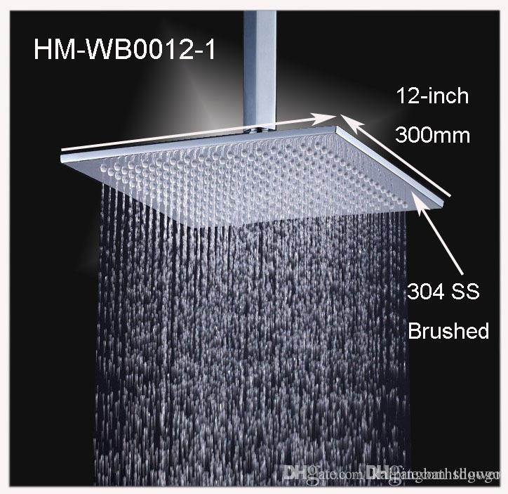Delicieux Best 12 Inch Square High Quality Stainless Steel Rain Shower Head Under  $101.07 | Dhgate.Com