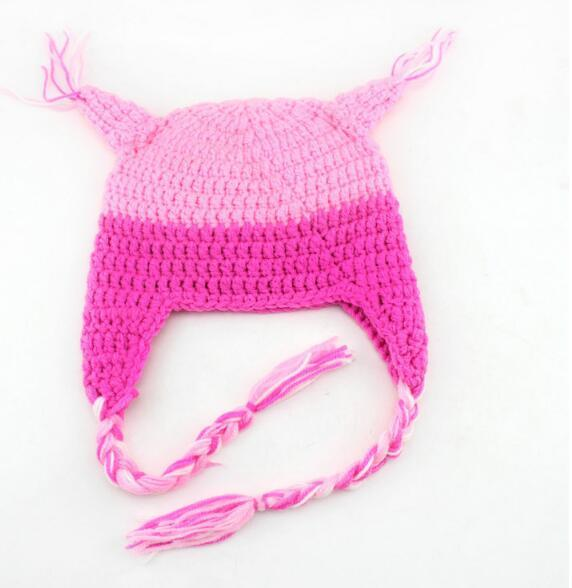 Venta caliente de invierno LOBO OWL Kids Manual Cap Crochet Lovely Baby Beanie casquillo hecho a mano de los niños Infantil Knit OWL Hats Wholesale 2016 New Fashion