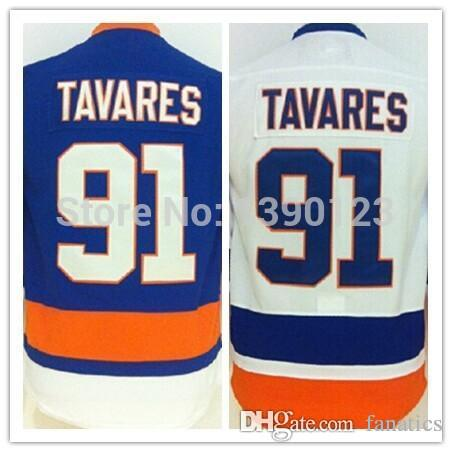 ... 2017 2016 Youth New York Islanders 91 John Tavares Jersey Kids  Authentic Stitched Ice Hockey Jerseys ... 1f98303be